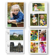Double Weight Assorted Photo Pocket Pages