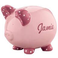 Personalized Kids Piggy Bank