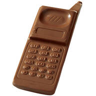 Milk Chocolate Cell Phone