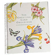 Greeting Card Organizer Book
