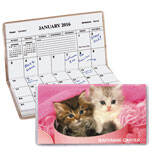 Personalized Kitten 2 Year Pocket Planner
