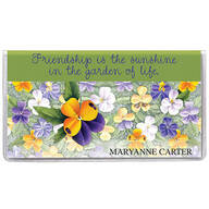 Personalized Pansy 2 Year Pocket Planner