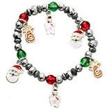 Child's Christmas Charm Bracelet