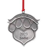 Personalized Pet Memorial Ornament