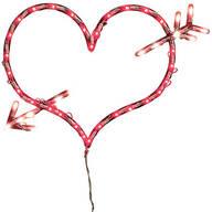Lighted Valentine Heart
