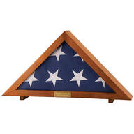 Veteran's Flag Display Case