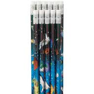 Space Galaxy Pencils - Set of 12