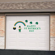 St Patrick's Day Garage Door Magnet Set
