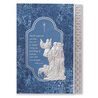 Silver Nativity Card Set of 20