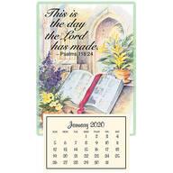 Psalm 118:24 Mini Magnetic Calendar