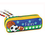 Personalized Sports Pencil Case Set