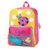 Personalized Ladybug Backpack