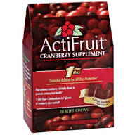 ActiFruit™ Cranberry Supplement Chews - 20 Count