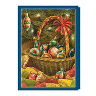 Antique Ornaments Non-Personalized Card Set of 20