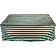 """Deluxe Rectangular Table Set Cover 108""""x90""""x30"""""""