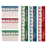 Yarn Bookmarks & Bookplates Set