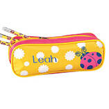 Personalized Ladybug Pencil Case