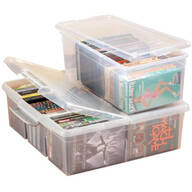 Stacking Media Storage Boxes