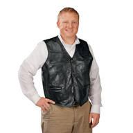 Patch Leather Vest