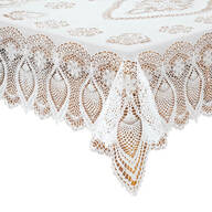 Vinyl Lace Tablecloth