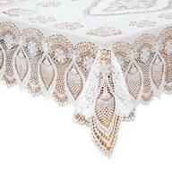 Vinyl Lace Tablecloth