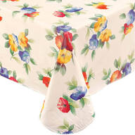 Waterflowers Vinyl Table Cover