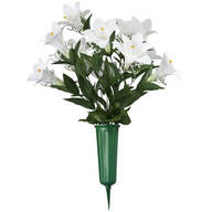 Easter Lily Memorial Arrangement by OakRidge™ Outdoor