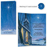 Personalized The Star Still Shines Christmas Card Set of 20