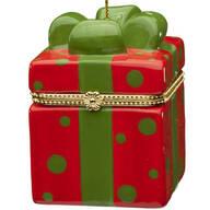 Merry Dots Trinket Box Ornament