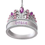 Personalized Princess Tiara Ornament