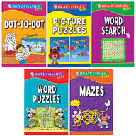 Brain Games™ For Kids, Set of 5