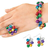 Jingle Bell Jewelry - Set Of 3