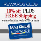 Club Membership Miles Kimball Rewards