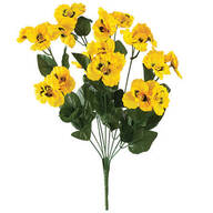 All-Weather Yellow Pansy Bush by OakRidge™ Outdoor