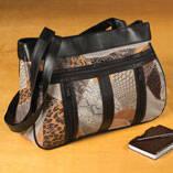 Safari Mix Leather Bag