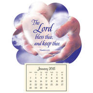 "Mini ""In God's Hands"" Magnetic Calendar"