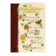 The Seven Wonders of Christmas Card Set of 20