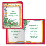 Your Family Bible Christmas Card Set of 20