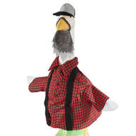 Lumberjack Goose Outfit