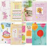 Birthday Card Set of 24
