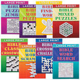 Large Print Bible Puzzle Book 8-Pack