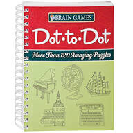 Brain Games® Dot to Dot Puzzle Book