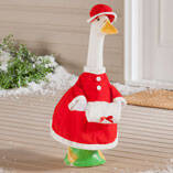 Mrs. Claus Goose Outfit