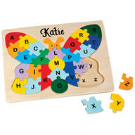 Personalized Butterfly Alphabet Puzzle