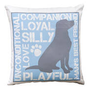 Dog Lover's Pillow