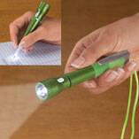 Flashlight Pen with Lanyard