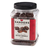 Dark Chocolate Sea Salt Caramels, 28 oz.