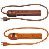 Wood Grain Power Strip