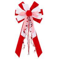 Valentine's Day Velvet Bow
