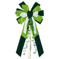 St. Patrick's Day Velvet Bow